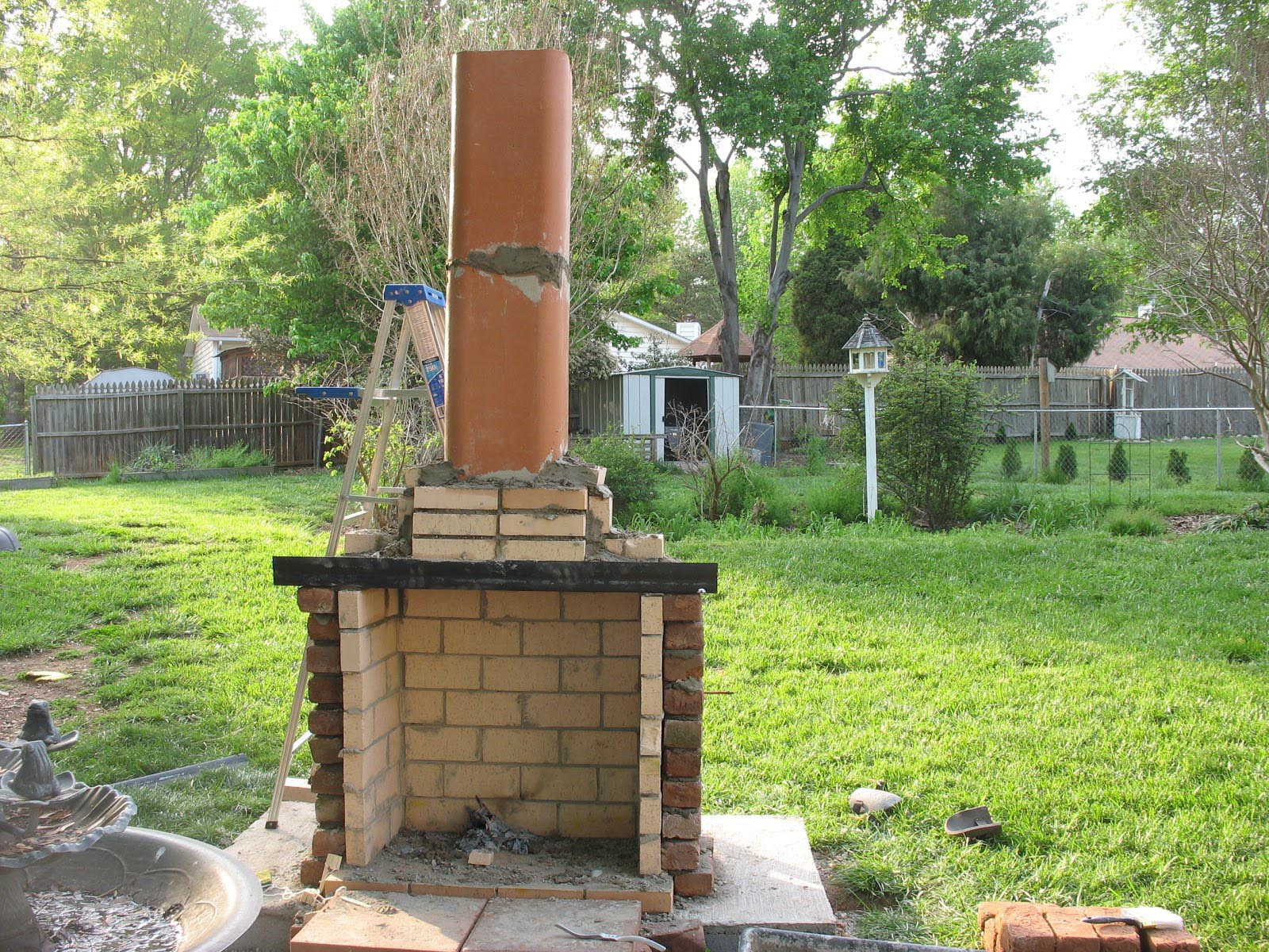 Diy Outdoor Fireplace is Perfect Idea | Fireplace Designs on Diy Outdoor Fire  id=89751