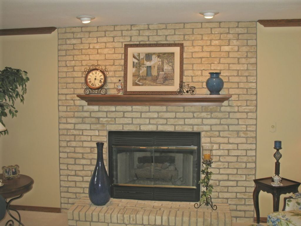 Finding A Perfect Brick Fireplace Paint