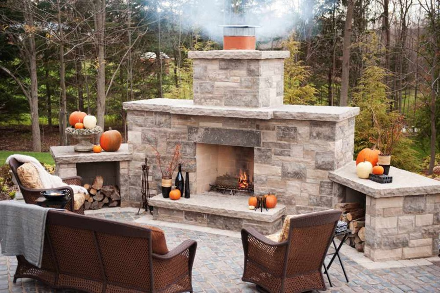 DIY Outdoor Fireplace Kits | FIREPLACE DESIGN IDEAS on Cheap Diy Outdoor Fireplace  id=98968