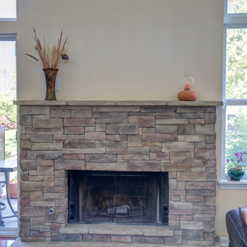 Stack Stone Fireplace An Installation You Should Have