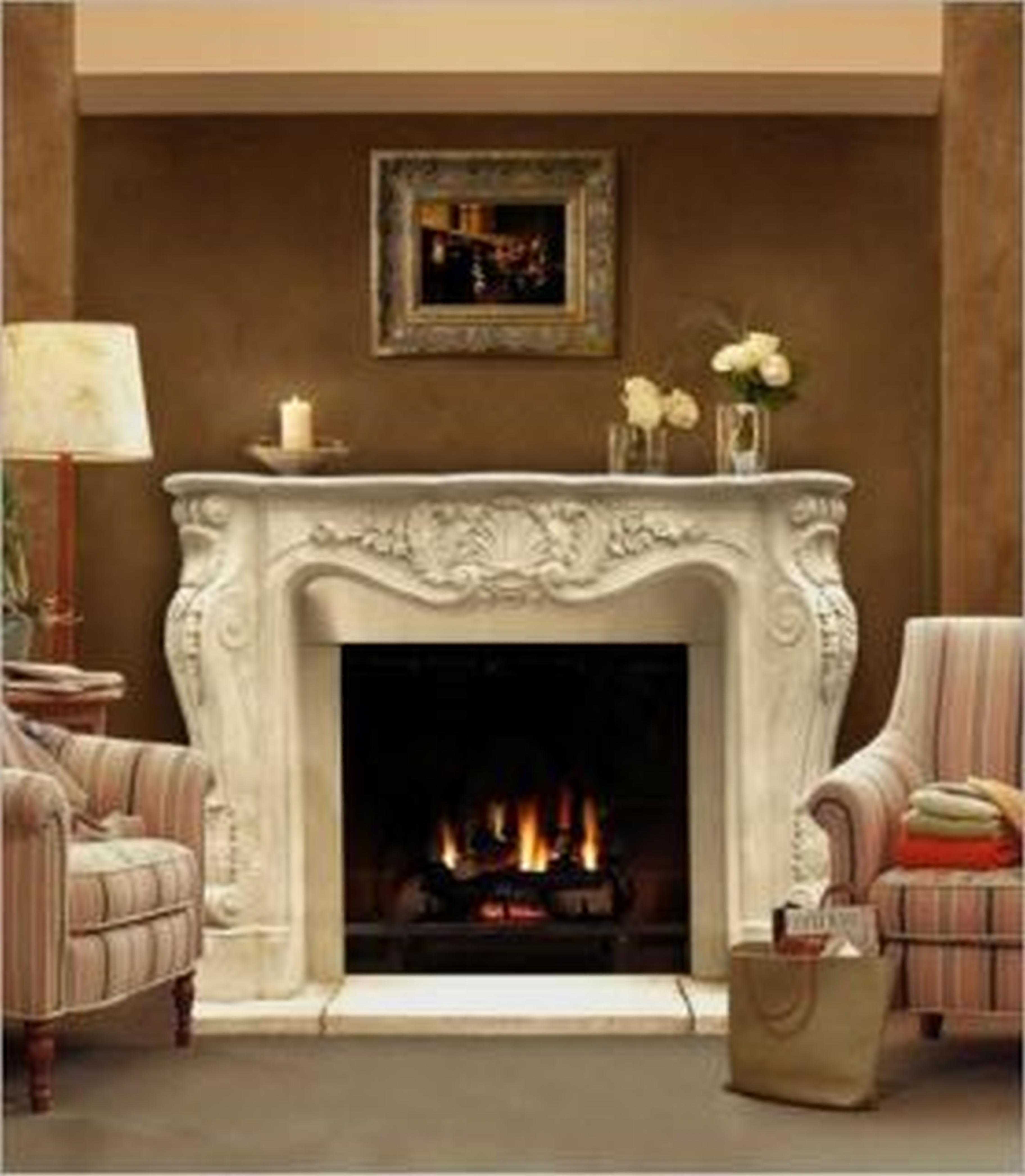 How To Clean Limestone Fireplace Surround