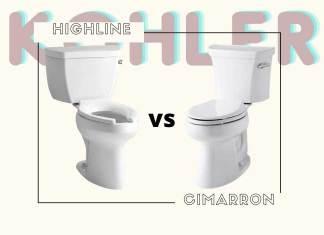 Kohler Highline VS Cimarron