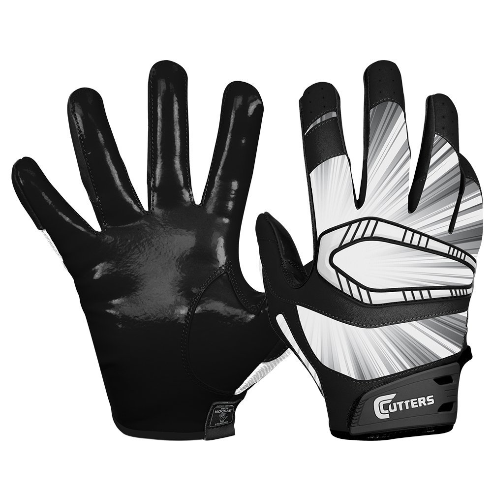 Black leather gloves meaning - Cutters Gloves Rev Pro Receiver Glove