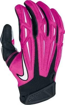 Nike Superbad Receivers Gloves Pink