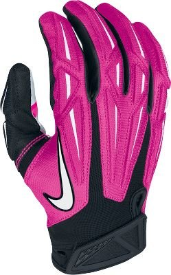 Nike Superbad Receivers Gloves Pink