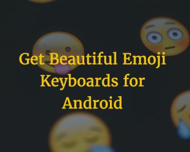 emoji keyboard android