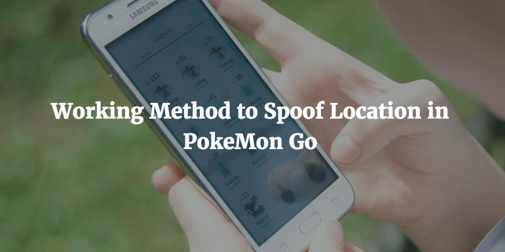 spoof location pokemon go flygps