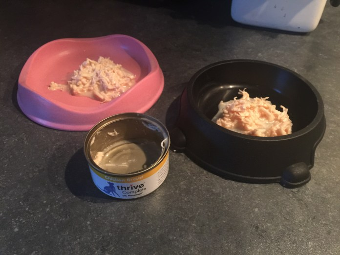 Thrive Complete Cat Food