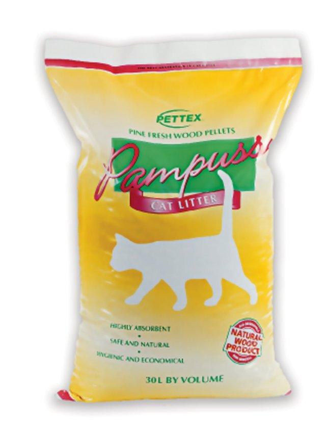 Pettex Pampuss Woodbase Cat Litter — best cat litter for indoor cats