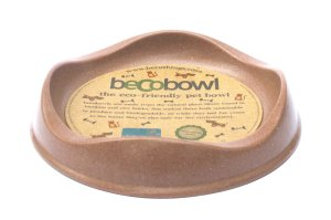 Beco Pets range - The Beco Pets Becobowl Eco-Friendly Pet Bowl for Cats in brown