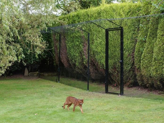 ProtectaPet freestanding cat enclosure