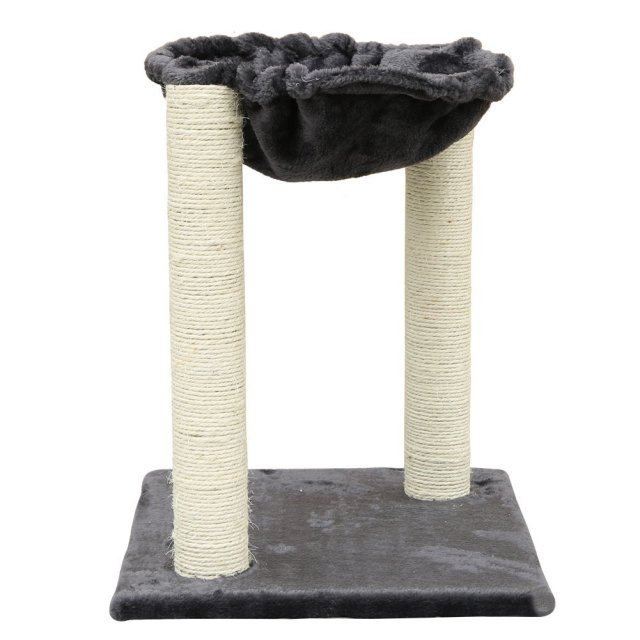 MAGIC UNION 20-Inch Cat Bed Hammock with Scratch Post