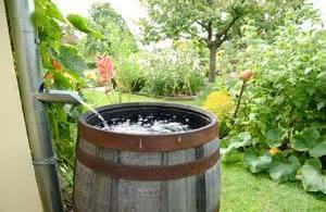 How to increase water pressure from rain barrel