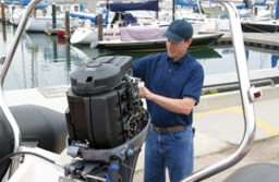 How to Install an Outboard Motor on Transom?