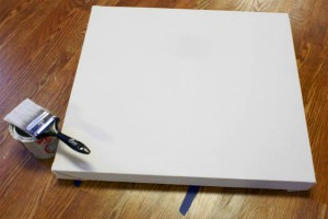 How to Prime a Canvas with Acrylic Gesso