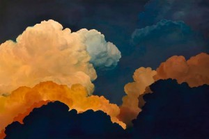 how to paint clouds the easy way