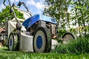 How to fix a lawn mower spitting oil out of the exhaust