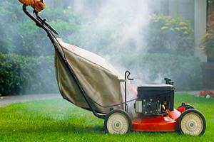 Why is My Lawn Mower Smoking Blue