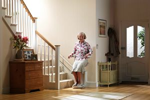 Seat Lift - So Stairs At Home are No Longer an Obstacle