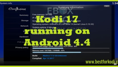 Run Kodi 17 0 on your Android 4 4 Device - Best for Kodi