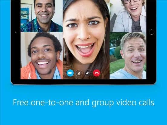 Download Skype for iPad