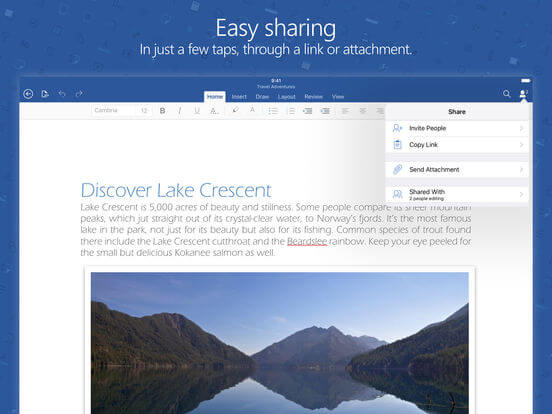 Download Word for iPad