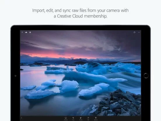 Download Adobe Photoshop Lightroom for iPad