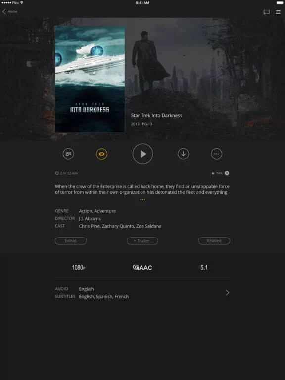 Download Plex for iPad