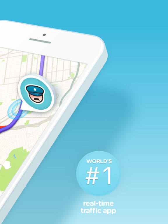 Download Waze for iPad