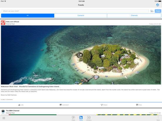 Download BBM for iPad