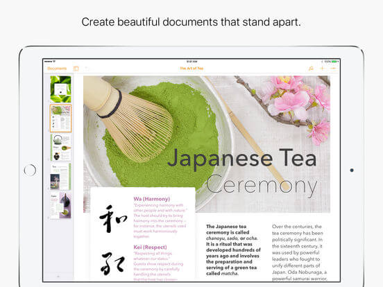 Download Pages for iPad