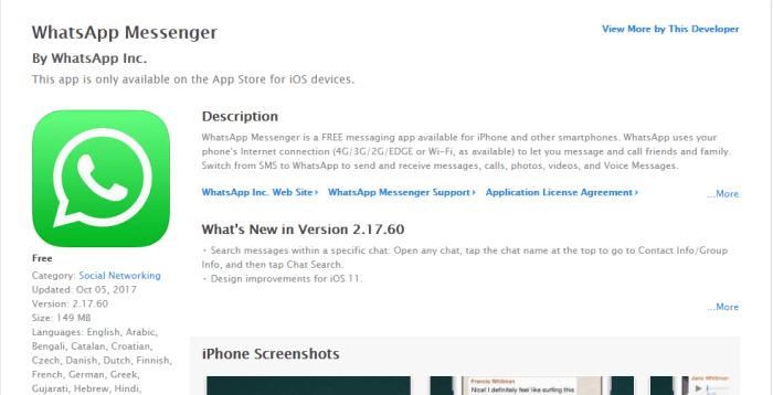 Download WhatsApp Messenger for iPad