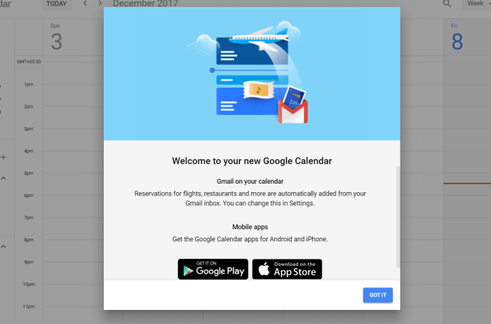 Download Google Calendar for iPad