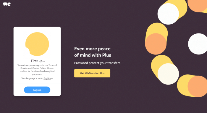 Download WeTransfer for iPad