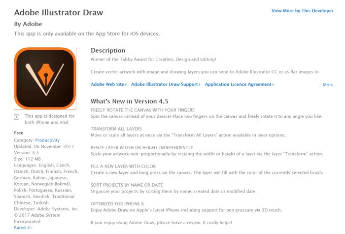 DownloadAdobe Illustrator for iPad