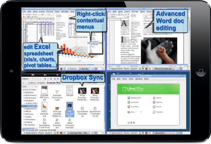 Download LibreOffice for iPad