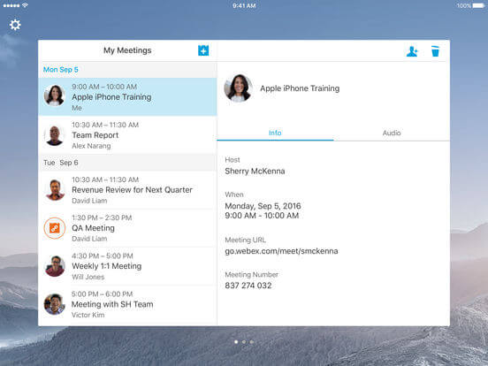 Download Webex for iPad