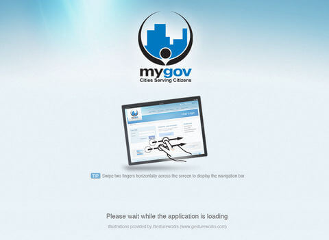 Download MyGov App for iPad