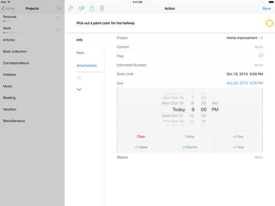 Download OmniFocus for iPad