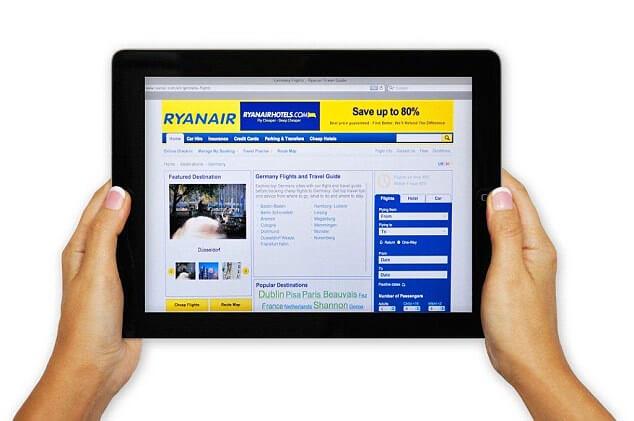 Download Ryanair App for iPad