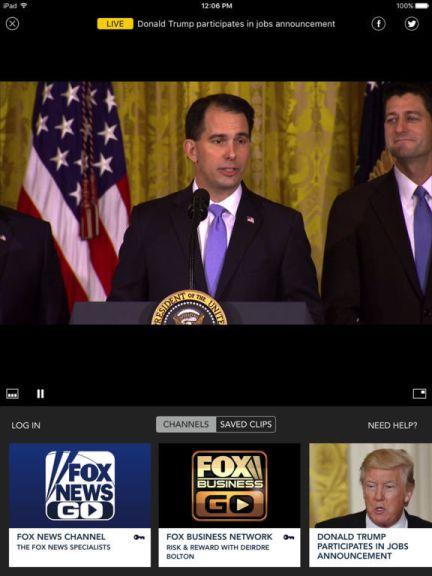 Download Fox News App for iPad