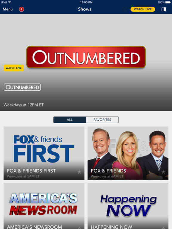 Download Fox News App for iPad