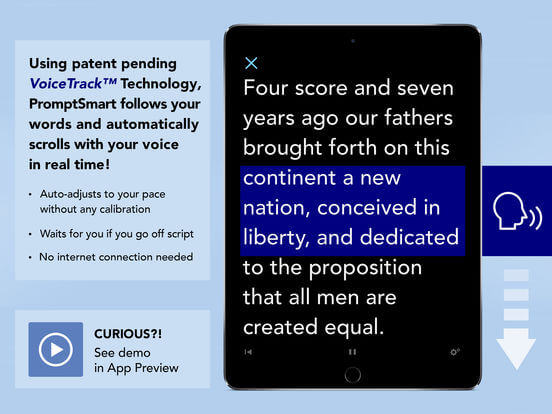 Download Teleprompter App for iPad