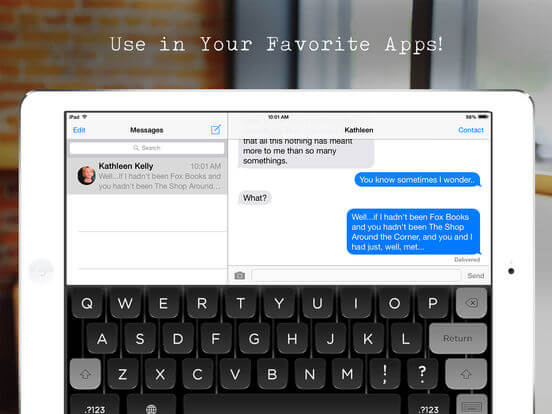 Download Letter Writing App for iPad