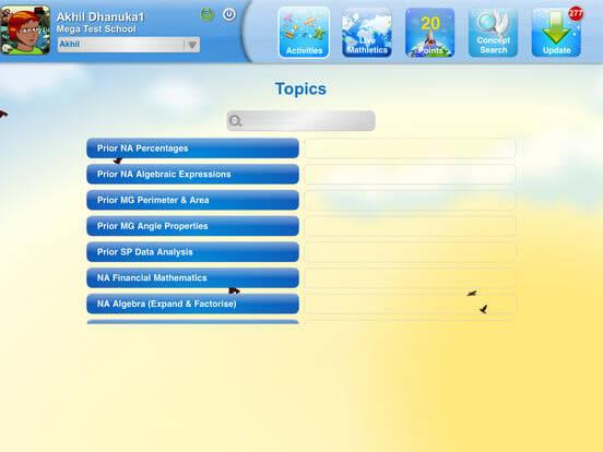 Download Mathletics for iPad