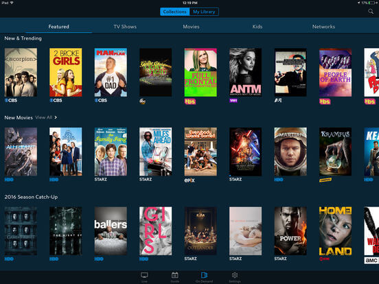 Download TV App for iPad