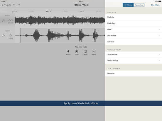 Download Audacity for iPad