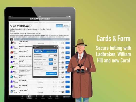 Download Racing Post App for iPad