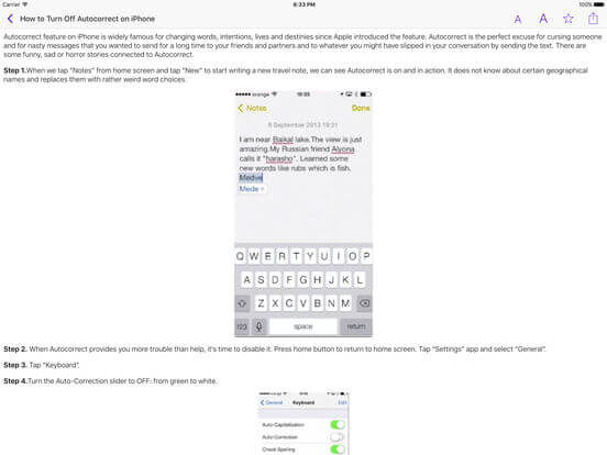 Download User Guide for iPad