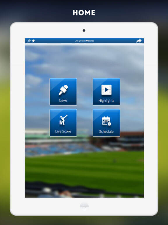 Download Live Cricket Streaming for iPad